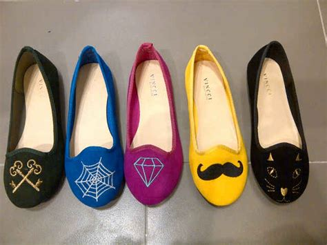 Sepatu Fashion Flat Kg309w sepatu by vincci azka onlineshop