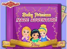 Baby Princess Maze Adventure - Disney Princess Games For ... Kids Games For Girls Disney Free Online