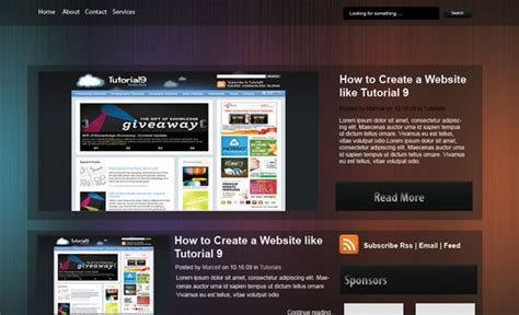 convert photoshop themes into html pages 16 tutorials using photoshop to build a website