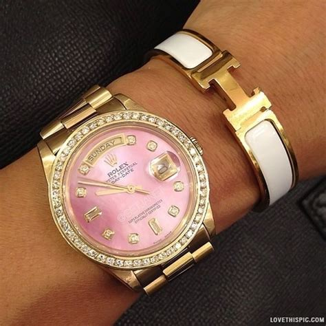Rolex Watch & Hermes Bangle Pictures, Photos, and Images for Facebook, Tumblr, Pinterest, and