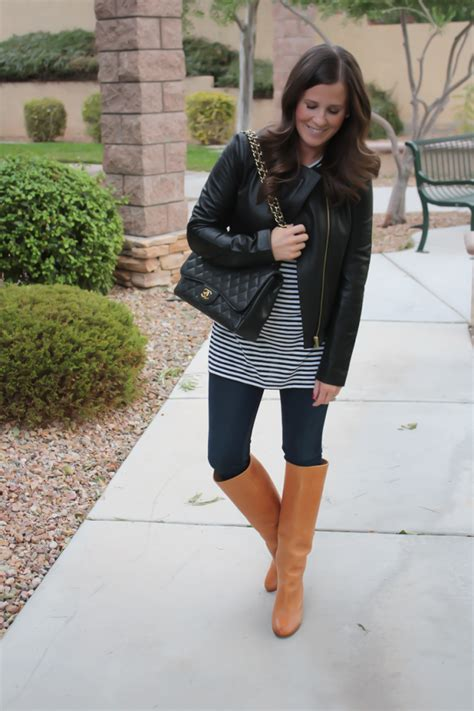image gallery leather jacket and boots