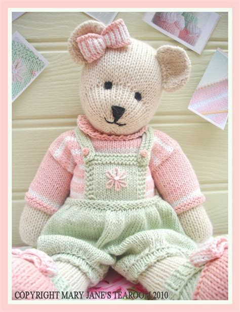 knitting pattern toys candy bear toy teddy knitting pattern pdf email