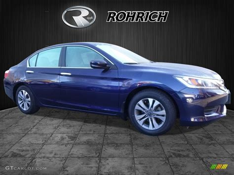 obsidian blue color 2013 obsidian blue pearl honda accord lx sedan 116805994