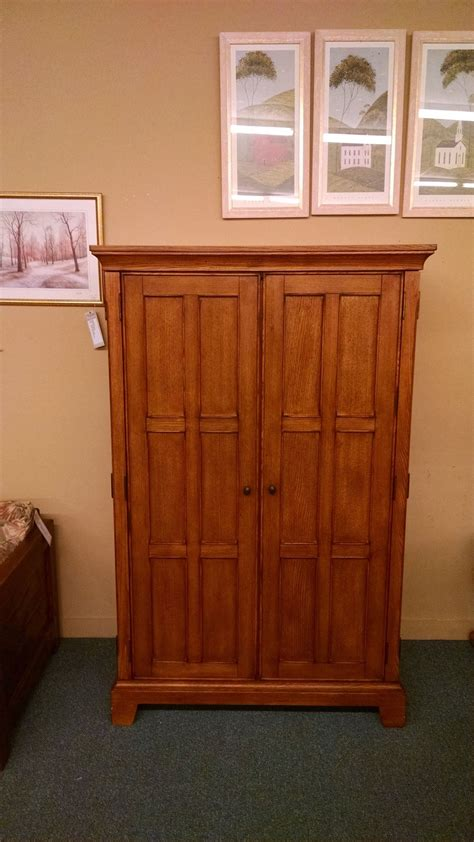 mission oak armoire mission oak armoire delmarva furniture consignment