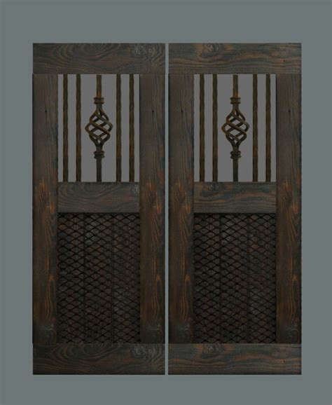 Swinging Interior Doors Custom Swinging Saloon Doors Rustic Interior Doors Los Angeles By Hylton Butterfield
