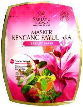 Harga Sariayu Martha Tilaar masker pengencang payudara breast mask sariayu martha