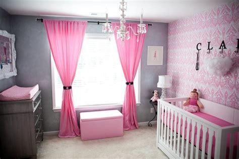 pink and gray room baby nurseries babytalk bungalow