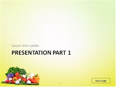 powerpoint templates vegetables download fresh vegetables mix powerpoint template