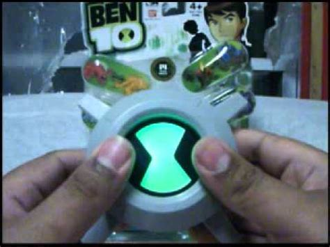ben  ultimate chest badge toy review youtube