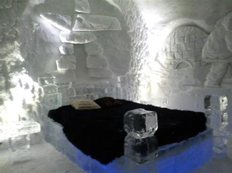 theme hotel de glace ice fireplace in our love themed suite picture of hotel