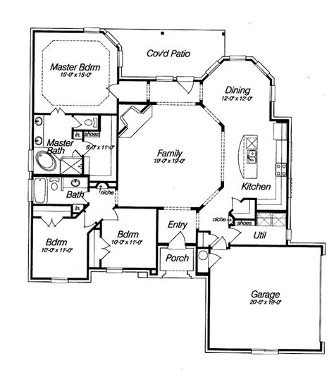 open home floor plans best open floor house plans cottage house plans