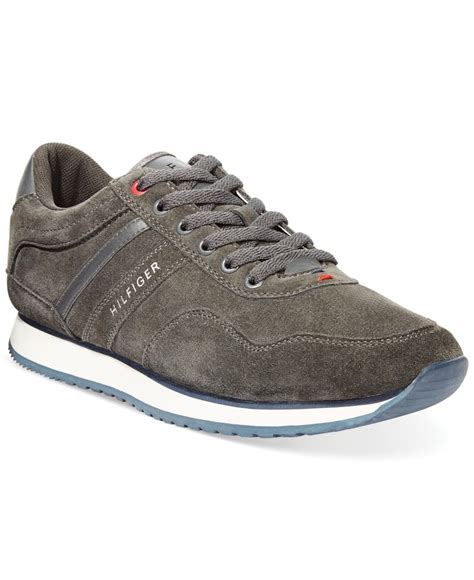 hilfiger sneakers mens lyst hilfiger marcus2 sneakers in gray for