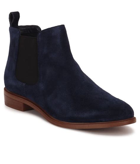 ankle length shoes for clarks navy ankle length boots price in india buy clarks