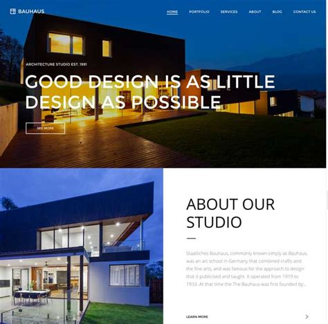 top architecture firms 2016 20 best architects architecture firms wordpress themes