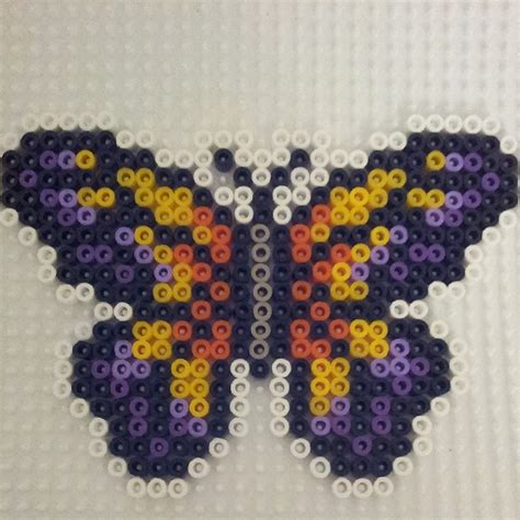 perler butterfly butterfly hama perler by corinaaquamarina perler