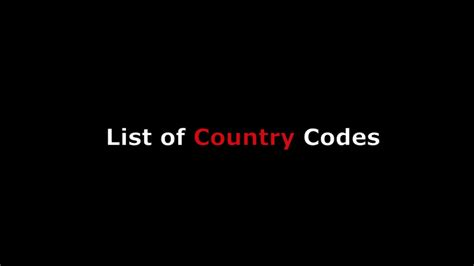 International Calling Codes Lookup Country Codes List For International Phone Calling W Numeric Code For Global World