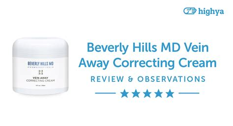 beverly hills md cosmeceuticals beverly hills md vein away correcting cream reviews is