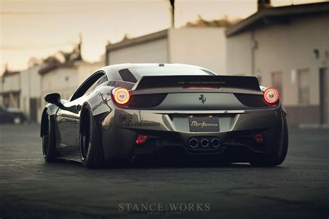 ferrari 458 liberty walk stance works the liberty walk ferrari 458