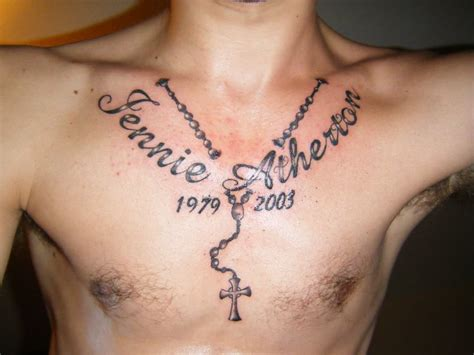 rosary tattoo designs for men 52 rosary tattoos for
