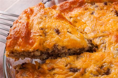 cheeseburger pie recipe chow com