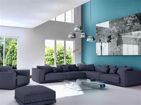 Idee Deco Salon Bleu by Idee Deco Salon Bleu Canard Id 233 E D 233 Coration