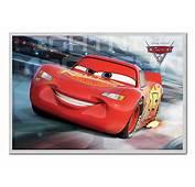 Framed Cars 3 Lightning McQueen Race Poster New  EBay