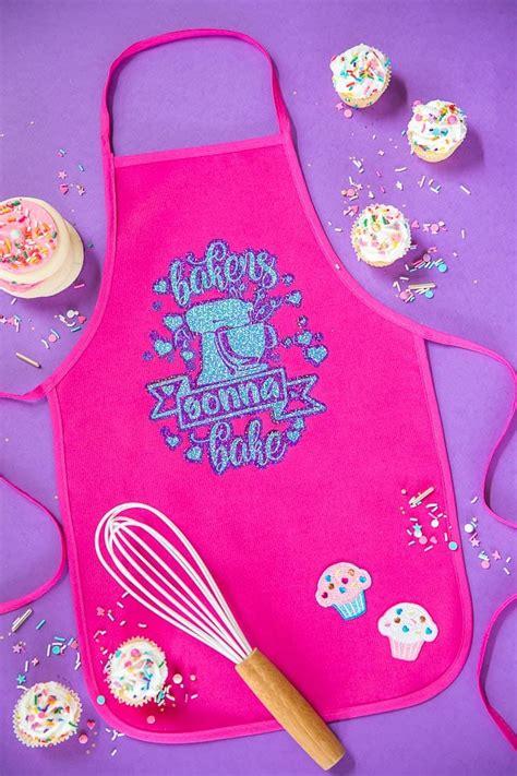 diy kids diy baking apron a pumpkin and a princess