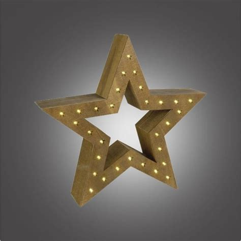 battery operated star lights dar lighting battery operated led wooden star with brown