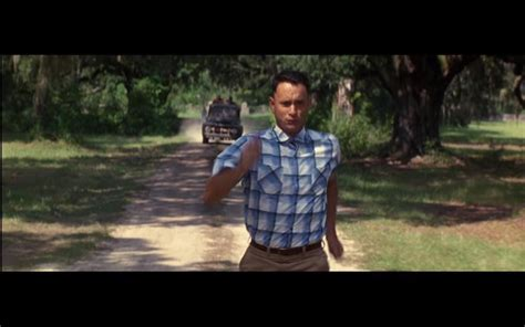 Forrest Gump On Bench Copesesque Run Forrest Run