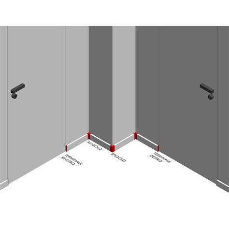 angolo interno angolo interno per canalina passafilo passacavi
