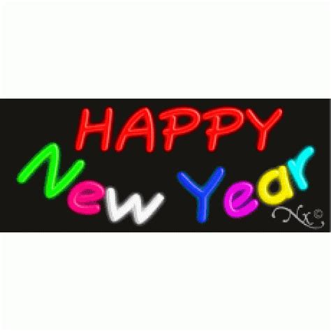 new year signs images happy new year neon sign