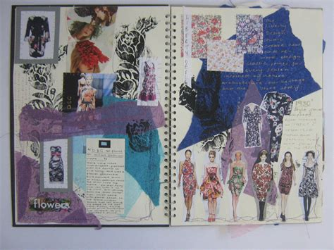 fashion design research book ba hons fashion sketchbook exle