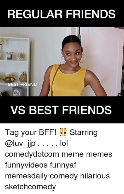Memes On Friends - funny best friend tag memes of 2017 on sizzle