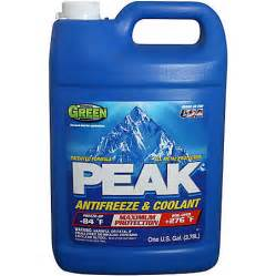 antifreeze color ace hardware peak antifreeze just 0 99 1 gallon