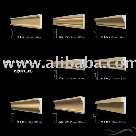 Wood Window Sill Profiles Window Sill Profiles Buy Decorative Products Eps