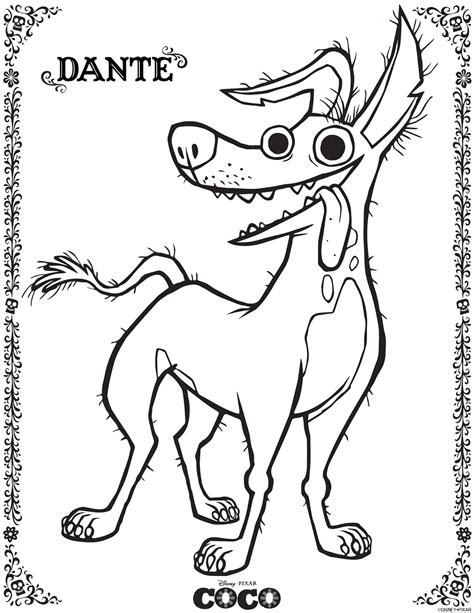 Disney Coco Coloring Pages   GetColoringPages.com