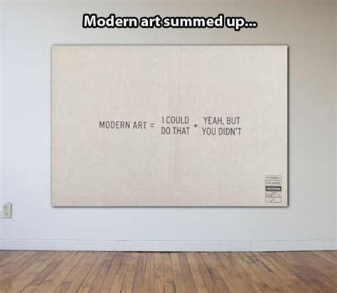 Modern Art Meme - explaining modern art