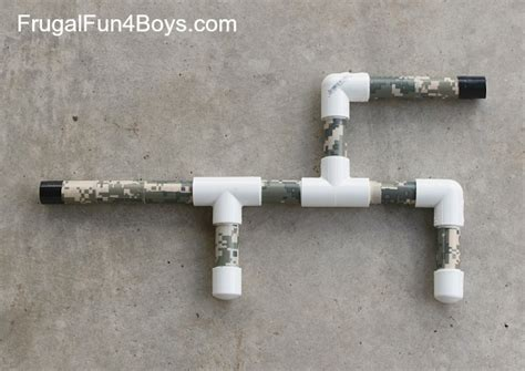 How To Make A Marshmallow Gun Out Of Paper - how to make a marshmallow gun out of pvc pipe