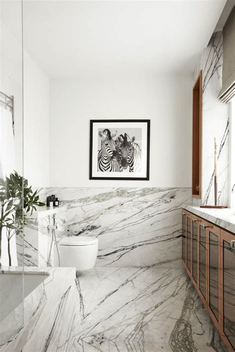 using marble in bathrooms modern home decor the marble bathroom