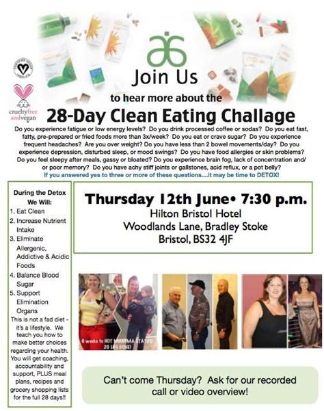 28 day clean challenge 17 best images about arbonne clean plan on
