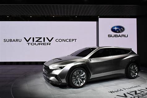 【ジュネーブショー 2018】スバル、進化型アイサイト搭載のツアラーモデル「viziv tourer concept