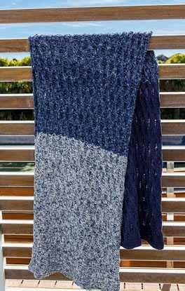 Garn Decke by California Linea Pura Garn