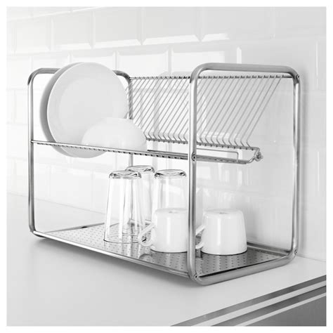 ikea dish rack ordning dish drainer stainless steel 50x27x36 cm ikea