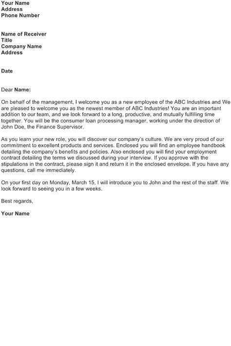 Mortgage Processing Welcome Letter Welcome Letter Sle Page 3 Of 5 Sle Business Letters Templates And Forms