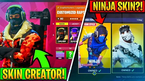 fortnite skin creator new secret skins and custom skin creator in fortnite