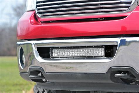 ford f150 light bar mounts 20in dual row single row led light bar hidden bumper