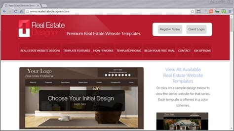 Real Estate Website Templates With Idx Real Estate Website Templates Idx Mls Integration Real Estate Designer