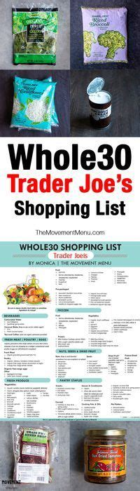 Trader Joe S Detox Cleanse Diet by 1000 Ideas About Paleo Shopping List On Paleo