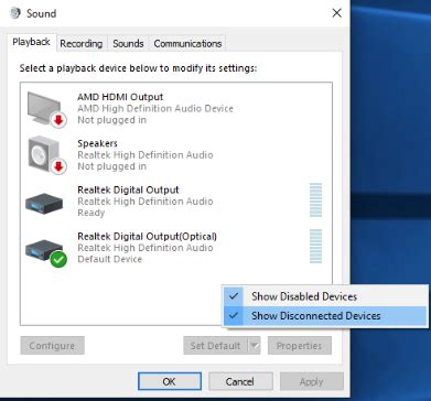 show devices from region samsung updates fix hdmi no sound in windows 10 driver easy