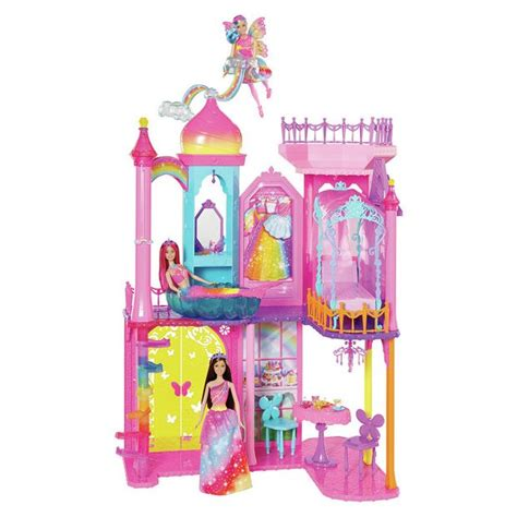 argos dolls houses buy barbie rainbow castle at argos co uk your online shop for dolls houses dolls